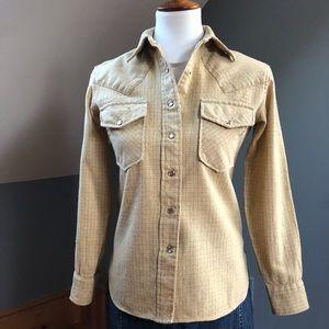 60's Vintage Pendleton Wool Western Snap Shirt
